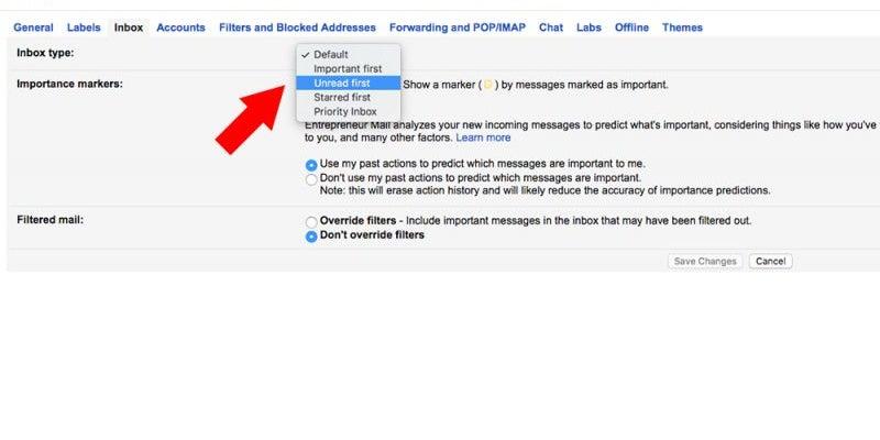 Create multiple inboxes.