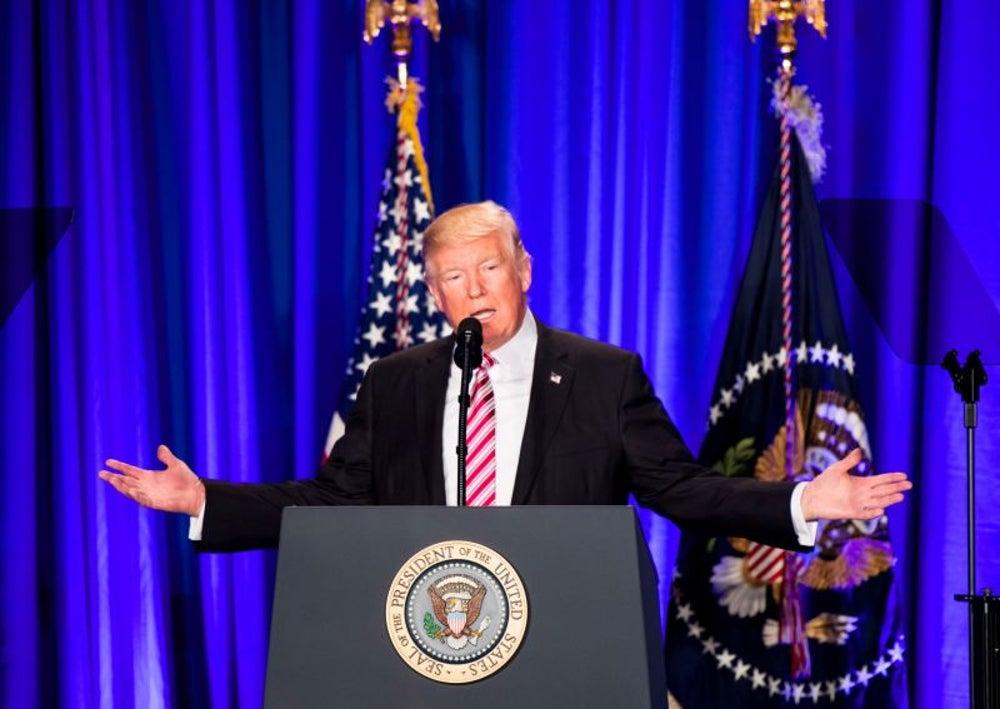 """President Trump Tweets How """"Honered"""" He Is"""
