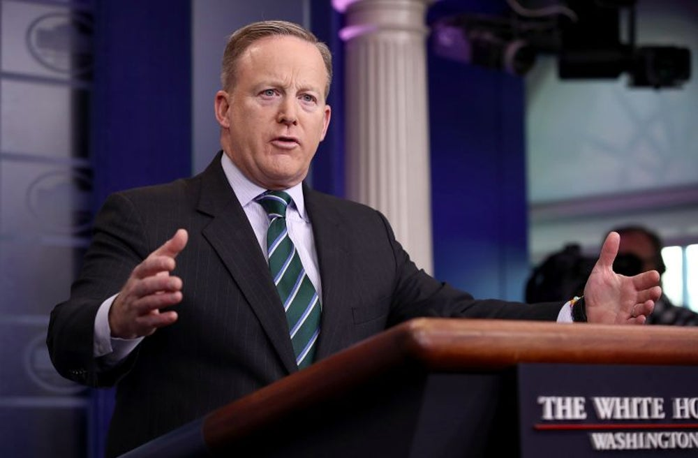 Sean Spicer May Have Tweeted His Password