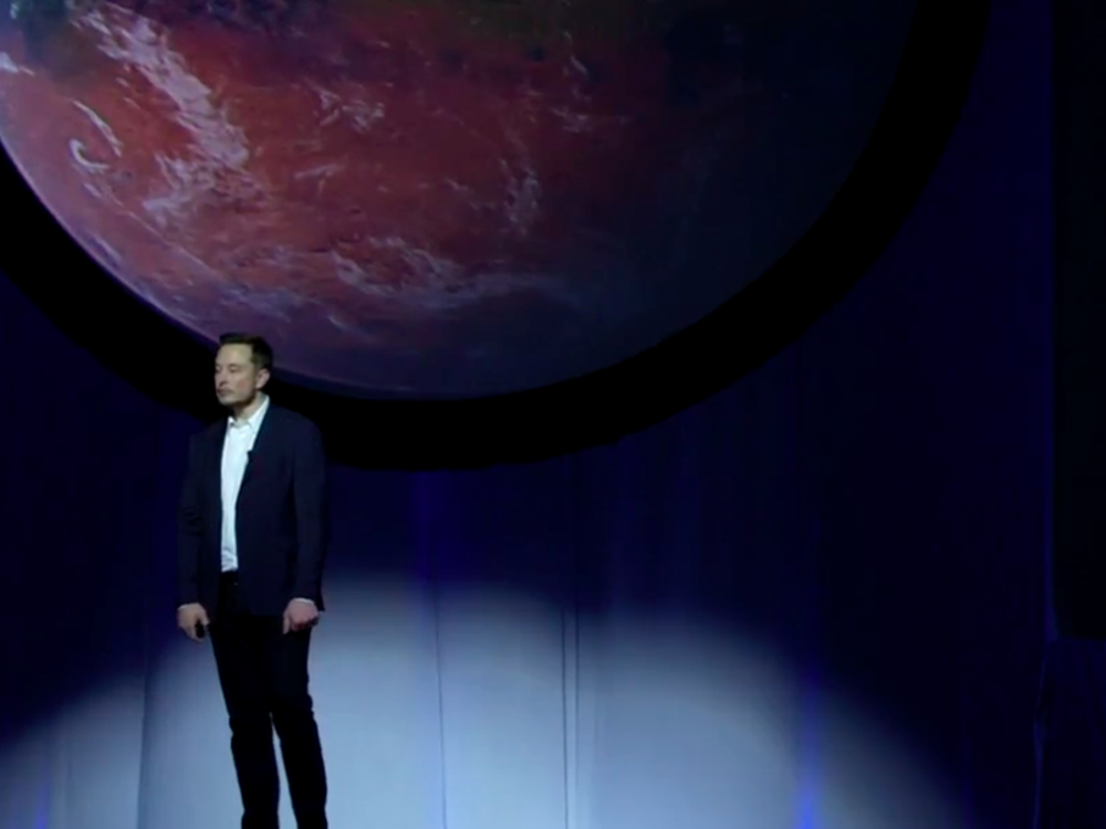 "In September, Musk said anyone who goes on the first journey to Mars should be ""prepared to die."""
