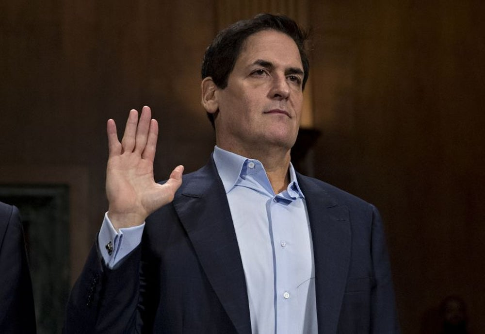 Mark Cuban, Investor, owner of the Dallas Mavericks and Landmark Theatres: This will not alleviate fears