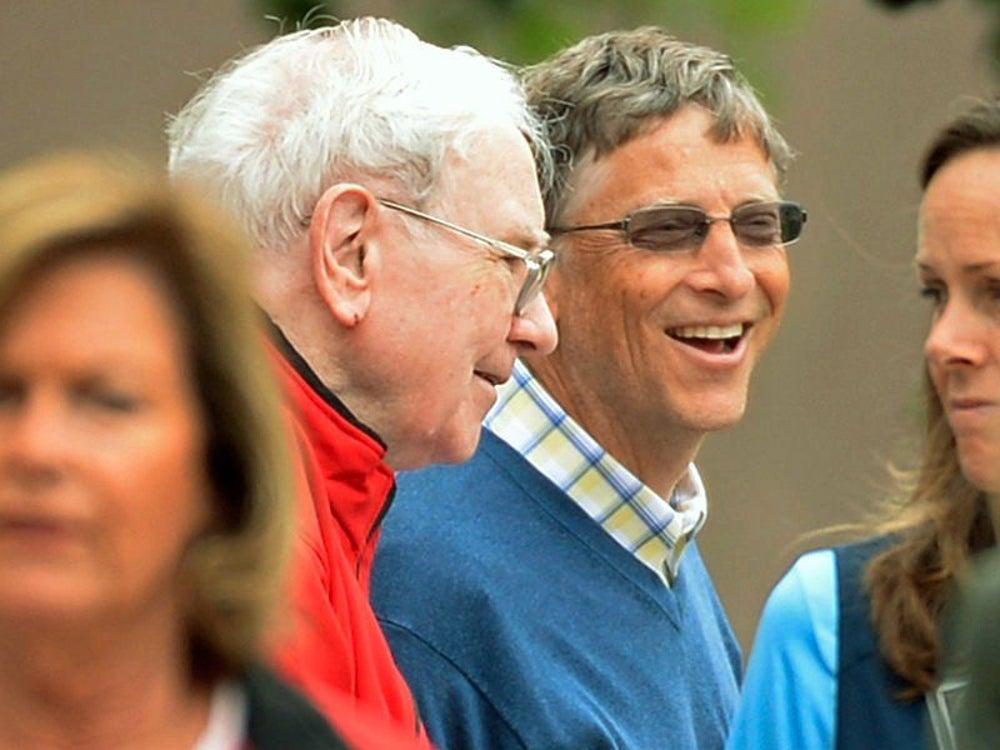 Though Buffett spends frugally, he gives generously. In 2010, he teamed up with Bill and Melinda Gates to form The Giving Pledge, an initiative that asks the world's wealthiest people to dedicate the majority of their wealth to philanthropy.