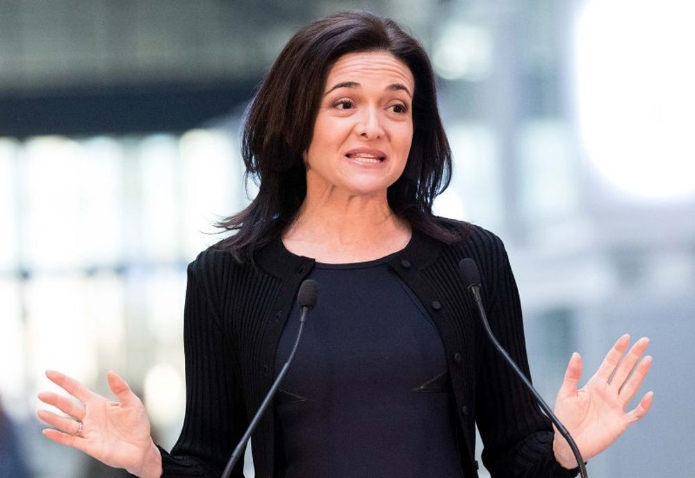 "Sheryl Sandberg, COO at Facebook and founder of Lean In: ""This is not how it should be in America."""