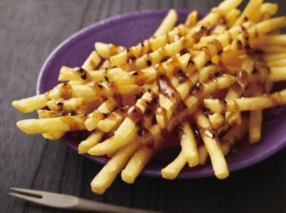 """Japanese Style"" French Fries, McDonalds, Japan"