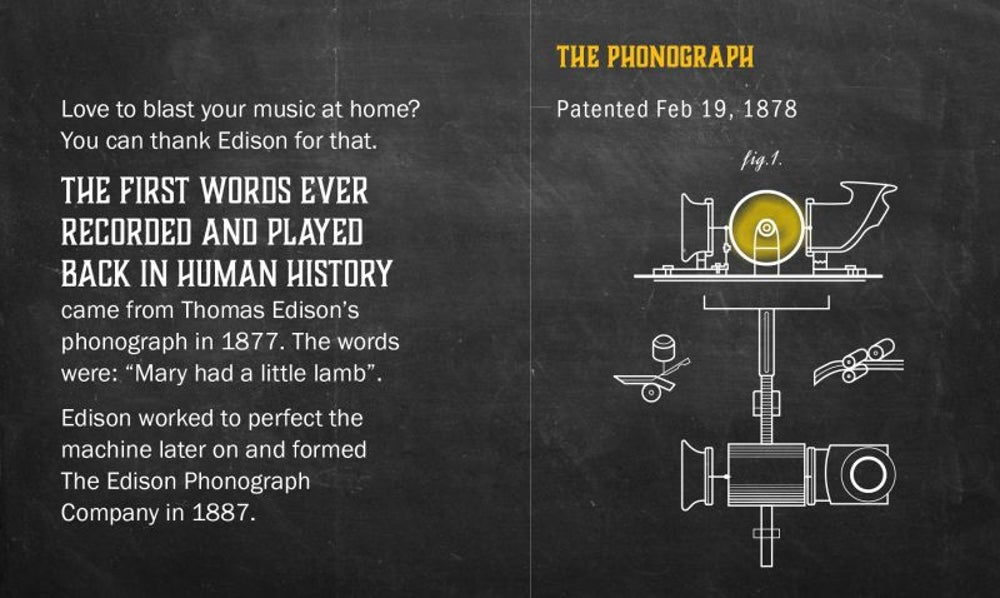 Fact: The first recorded words came from a nursery rhyme.