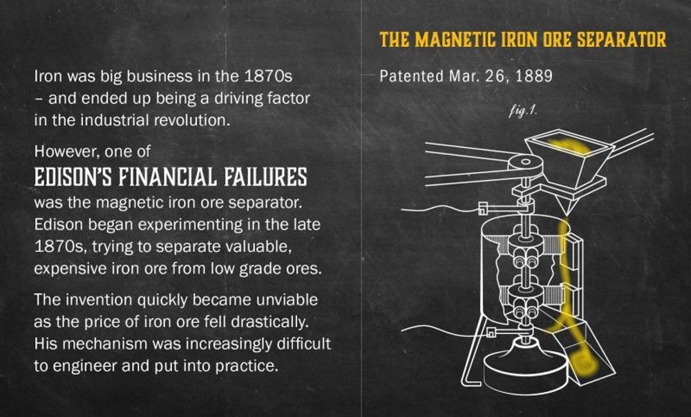 Fact: Edison had some big fails.