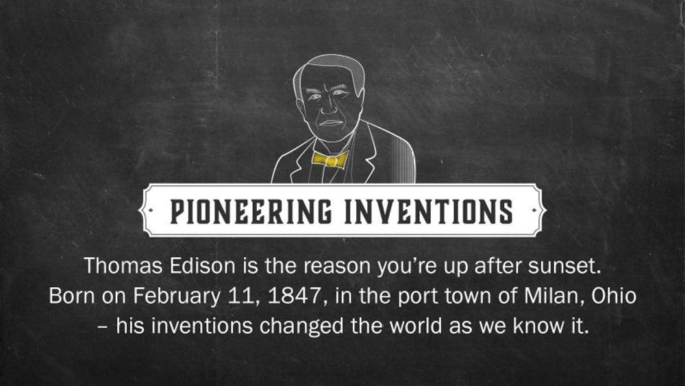 Fact: Edison has 2,332 patents worldwide.