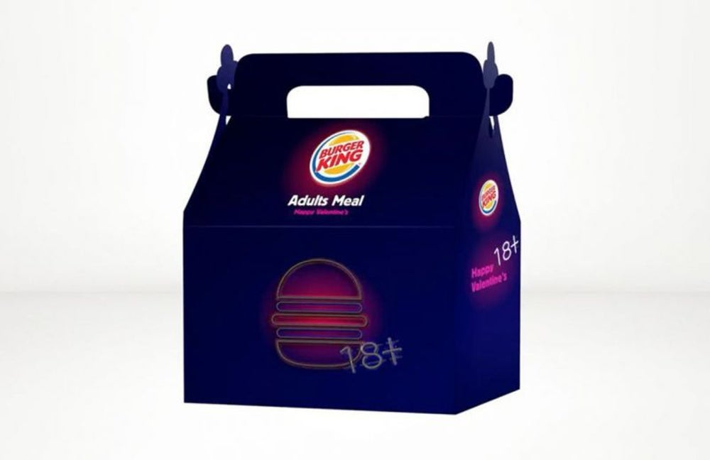 Burger Kings in Israel Offer Adult Happy Meals With Sex Toys