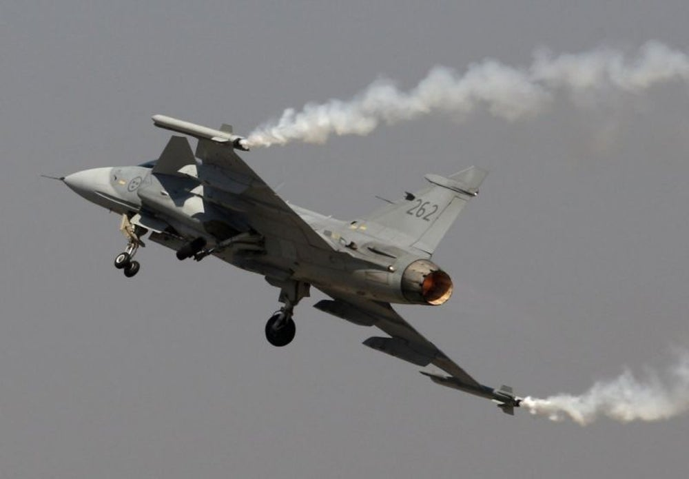 The SAAB Gripen