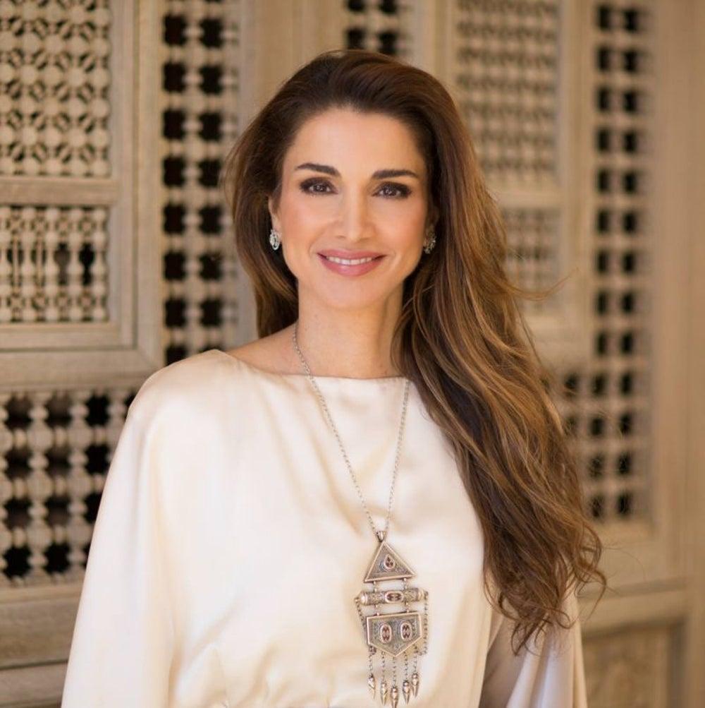 Queen Raina, Jordan