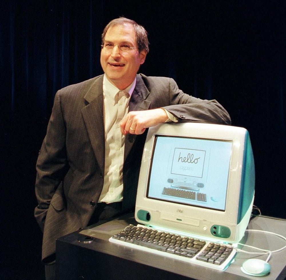 1998: Apple introduces the iMac