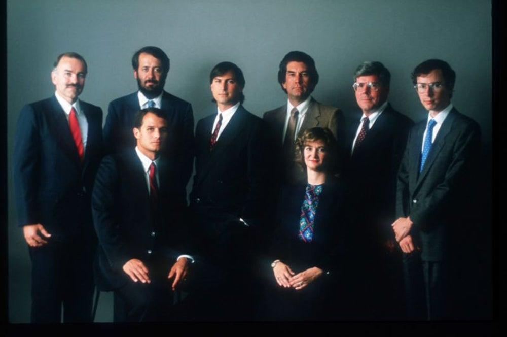 1985: Jobs is ousted from Apple, founds NeXT