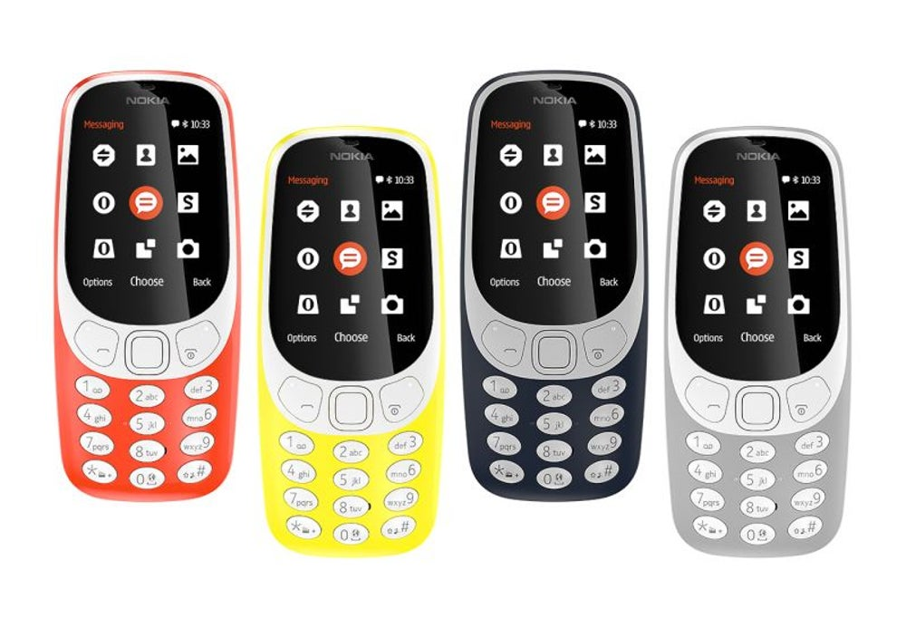 Nokia unveils its new-and-improved 3310.