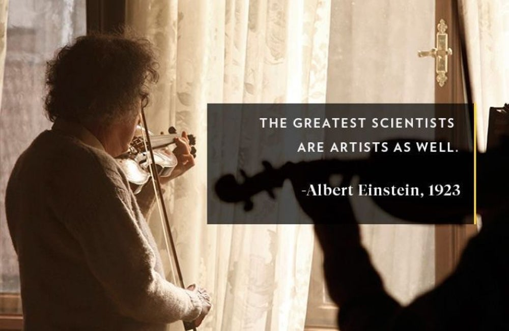 Summon your inner Einstein.