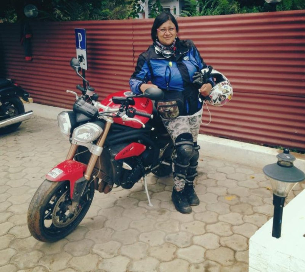Urvashi Patole, Founder, The Bikerni