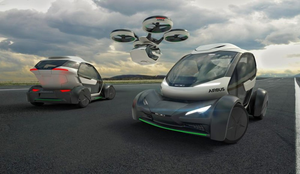 This Airbus is a new take on the flying car.