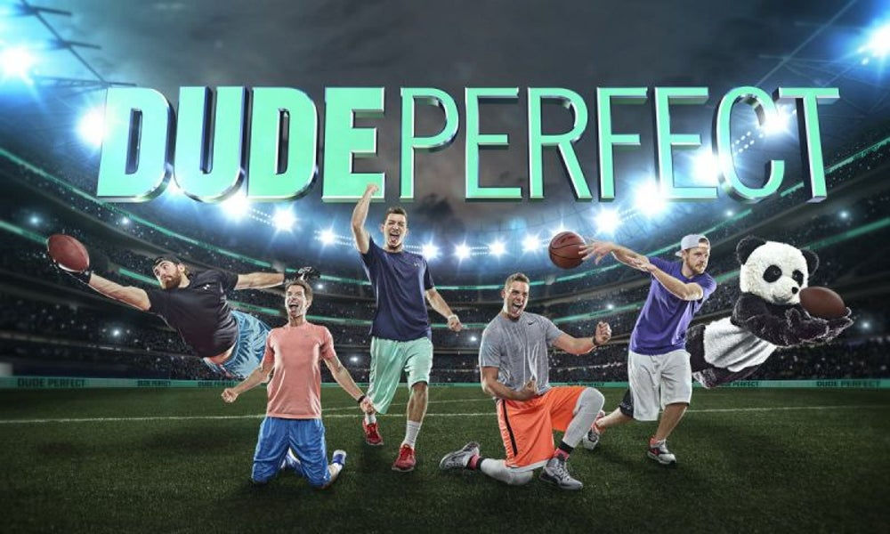Dude Perfect -- 16.2 million subscribers