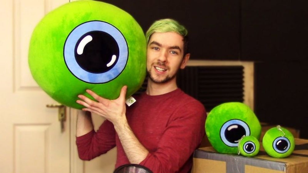 Jacksepticeye -- 14.8 million subscribers