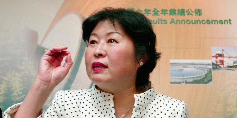 Zhang Yin -- net worth $4.5 billion
