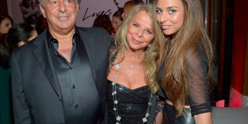 Tina Green and husband Philip Green -- net worth $5.5 billion