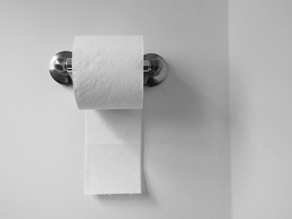 To combat toilet paper theft