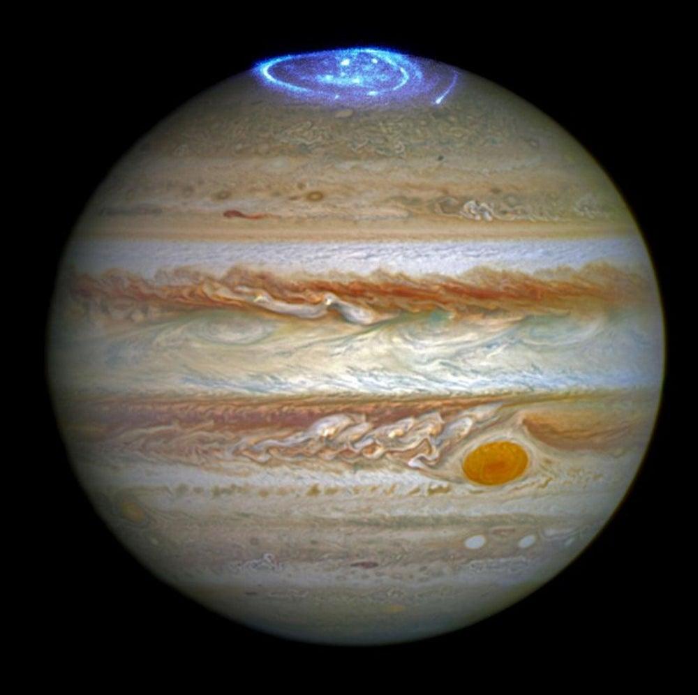 A Storm on Jupiter