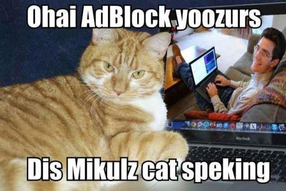 AdBlock LolCats (2012)