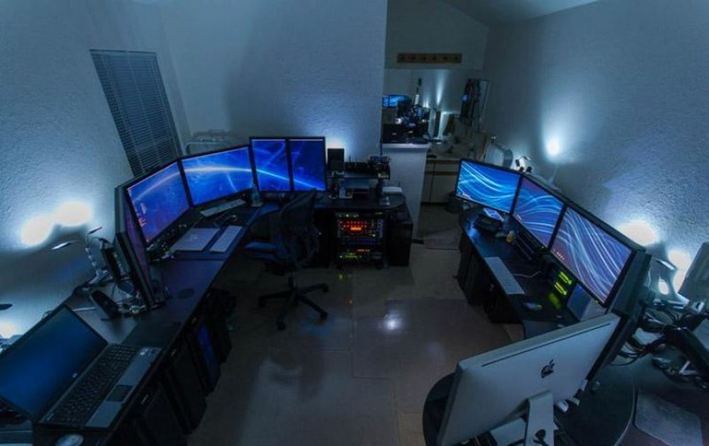 Double Six-Monitor Setups