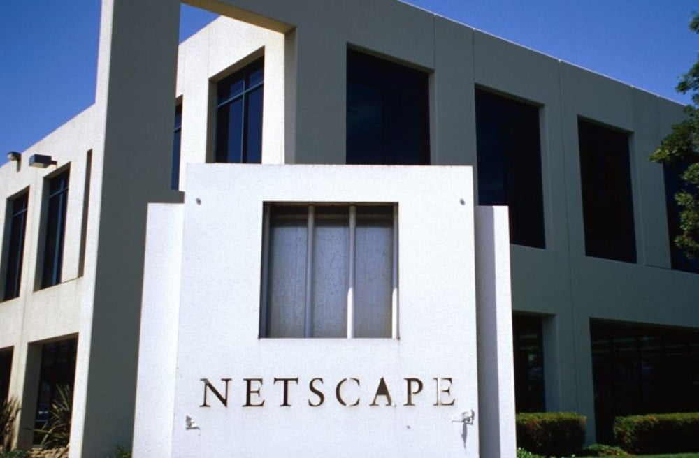 When Netscape ignored his application (and he was too shy to ask about it)