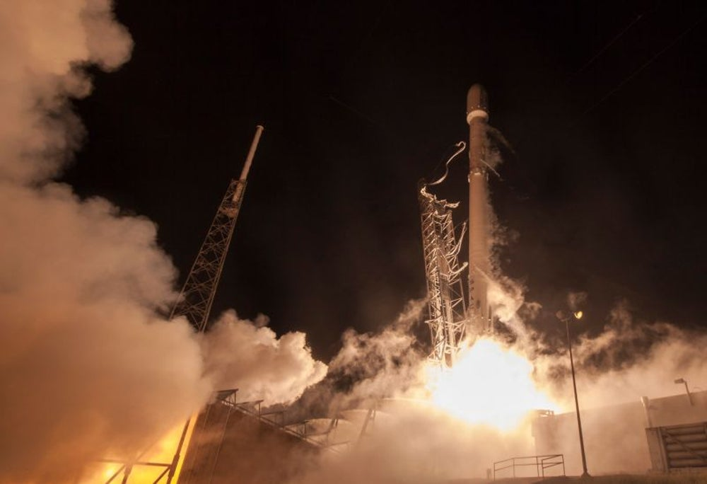 When SpaceX crashed its first 3 rockets