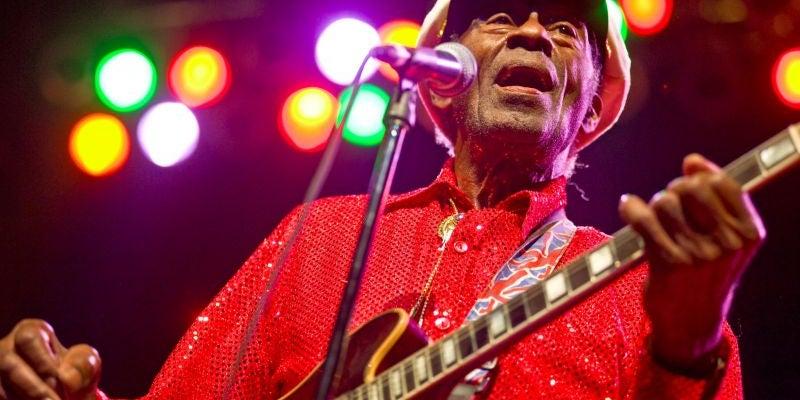 Chuck Berry, rock 'n' roll pioneer
