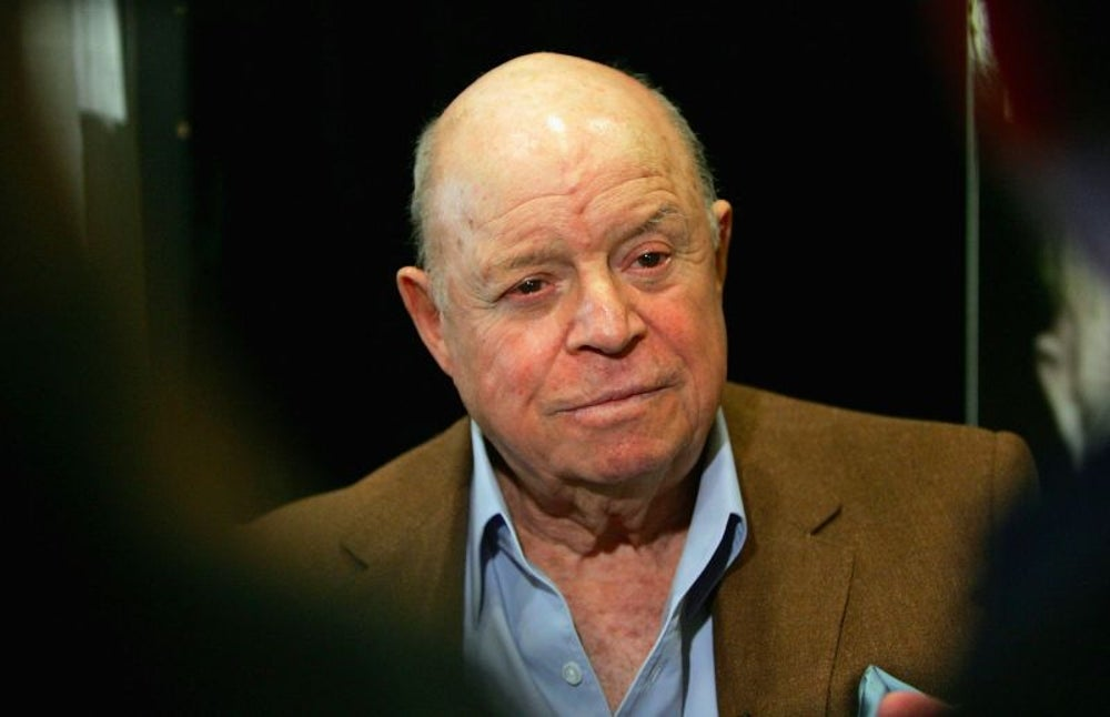 "Don Rickles, the ""King of Insult Comedy"""