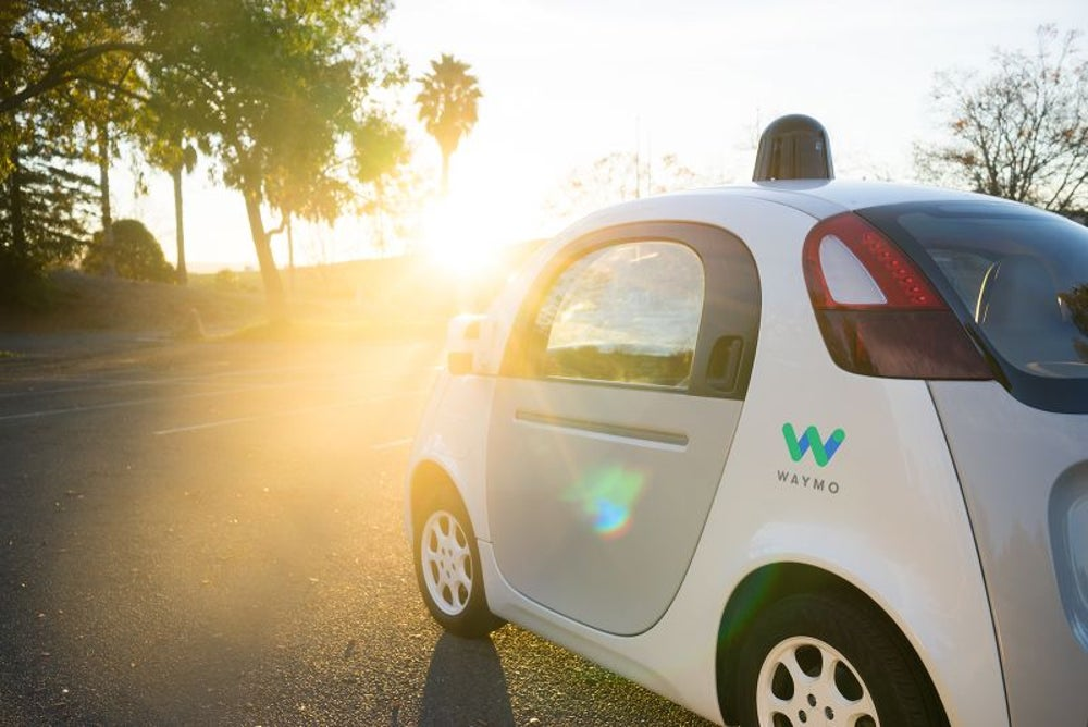 Waymo self-driving car: coming soon