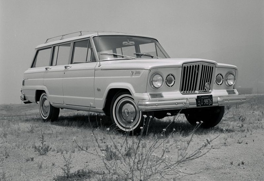 Jeep Wagoneer (SJ): 1962 to 1991