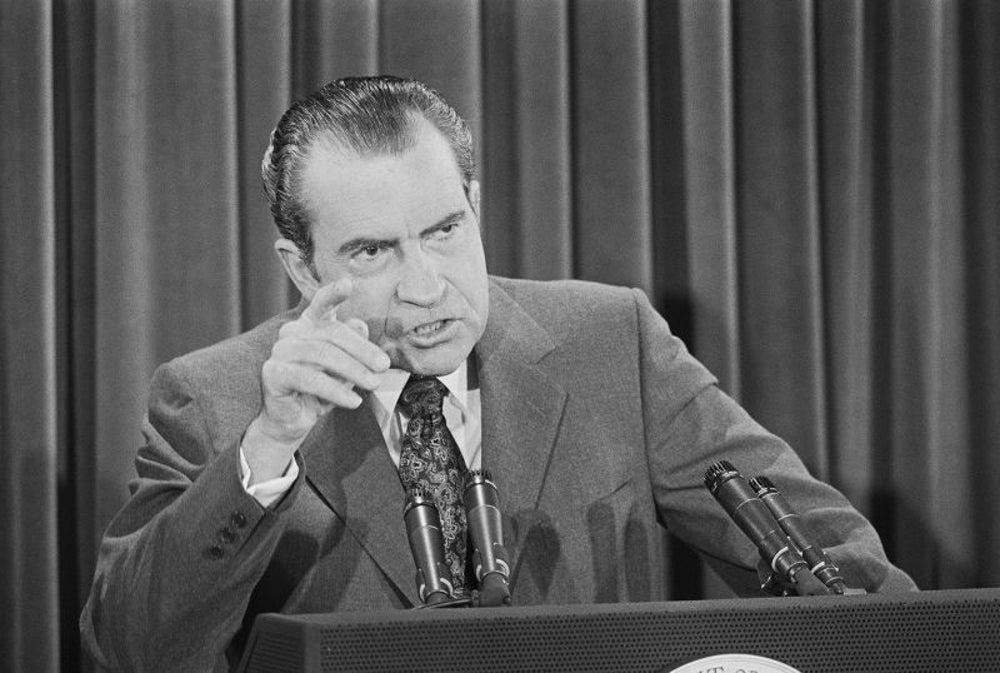 Nixon declares war on drugs in 1971.