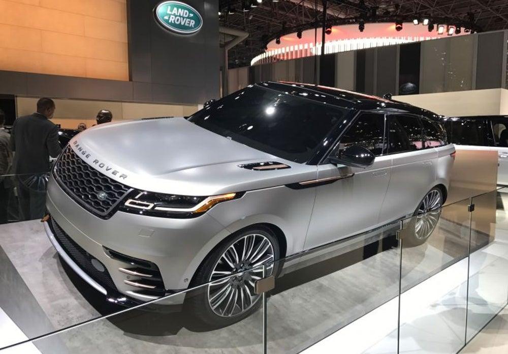 SUVs galore: Range Rover Velar