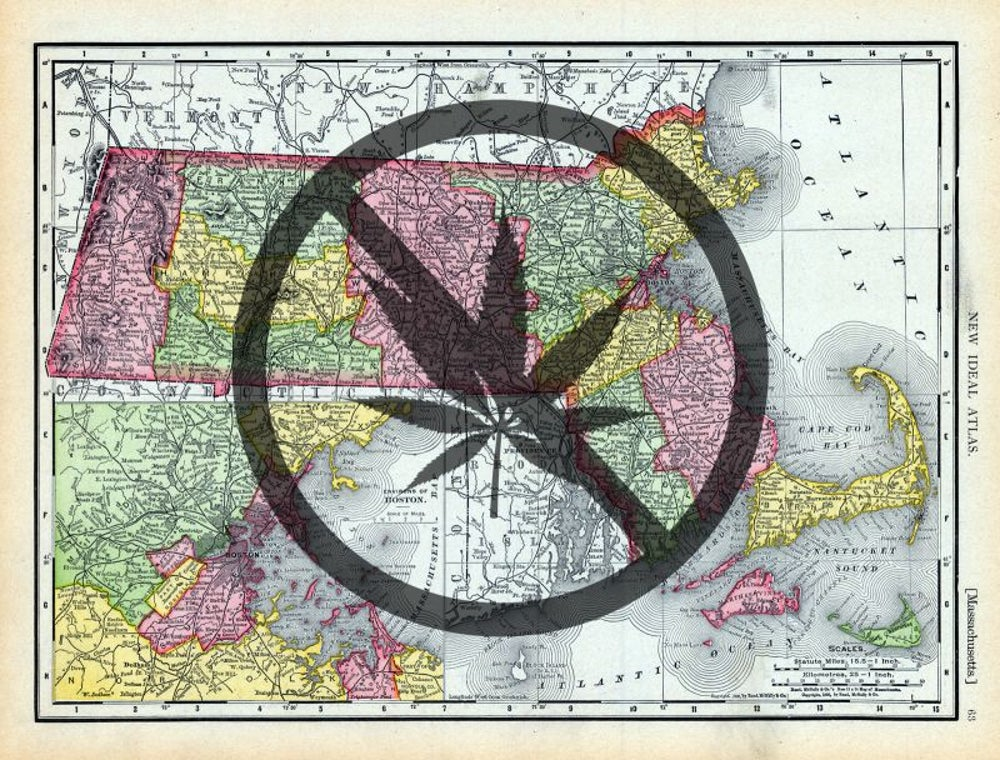Massachusetts outlaws cannabis in 1911.