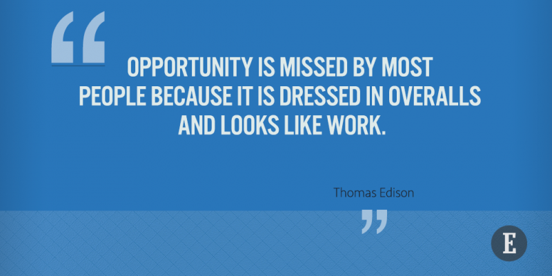 On opportunity