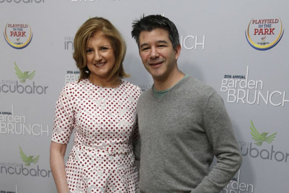 Arianna Huffington vs. Travis Kalanick