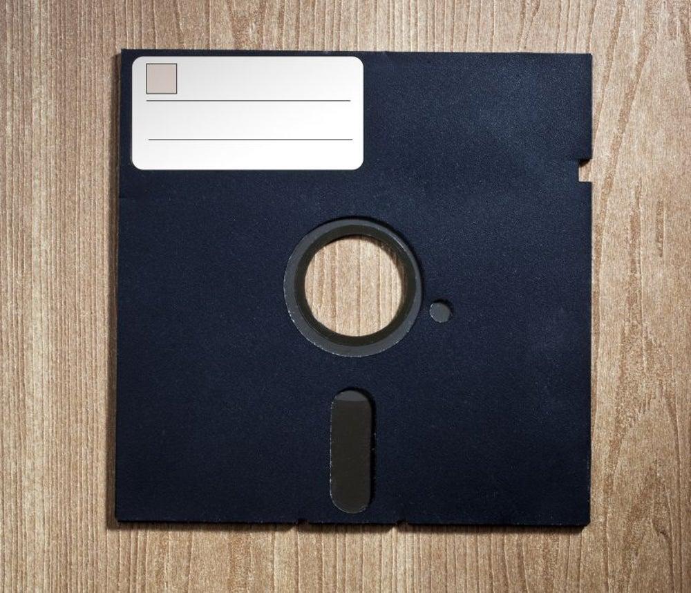 Floppy disk, 1971