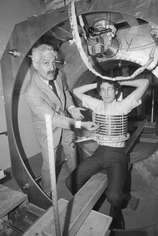 MRI machine, 1977