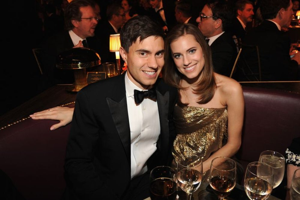 Ricky Van Veen and Allison Williams