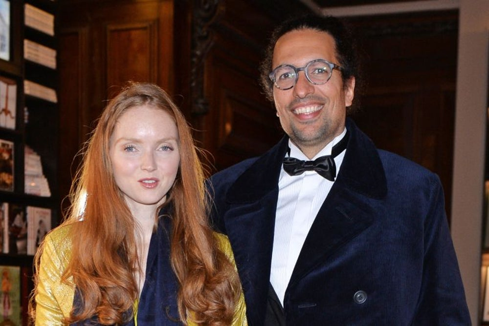 Kwame Ferreira and Lily Cole