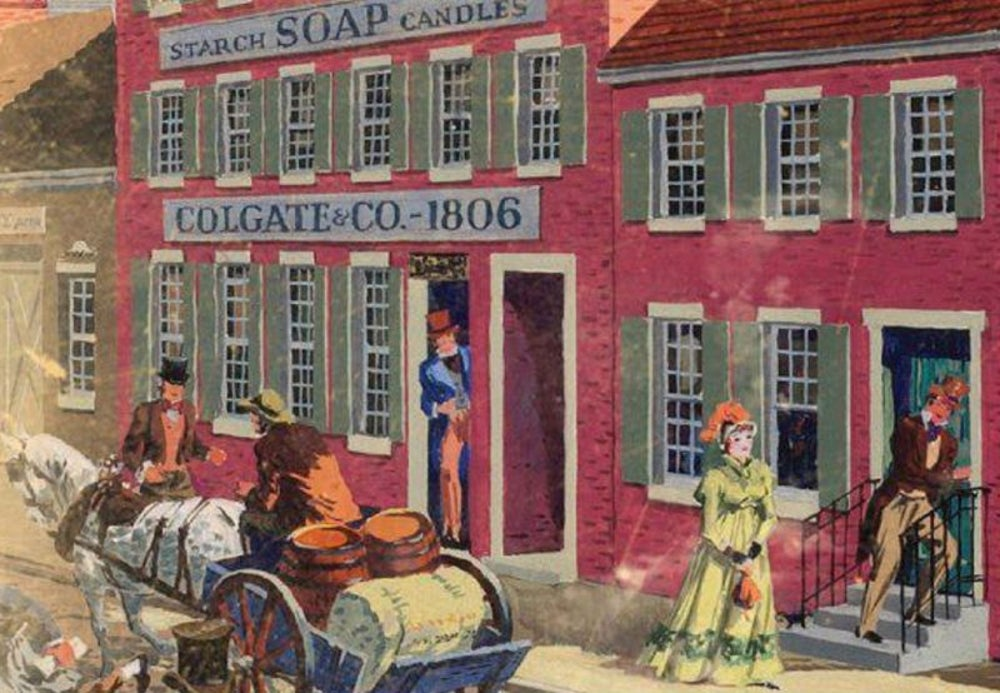 Starches, soaps and candles: Colgate founded in 1806