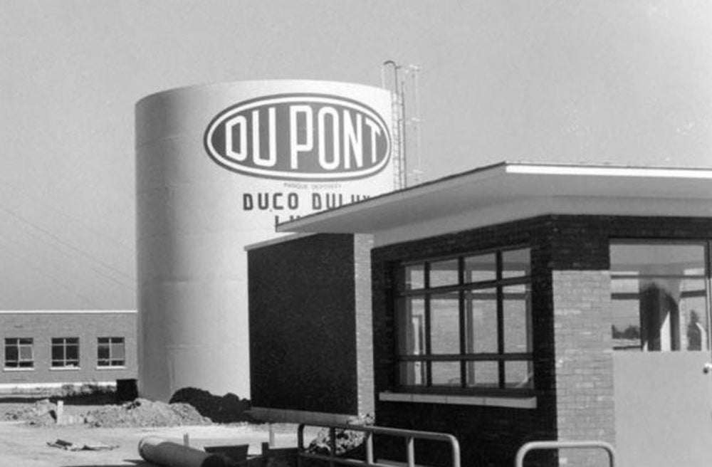 Chemicals: DuPont founded in 1802