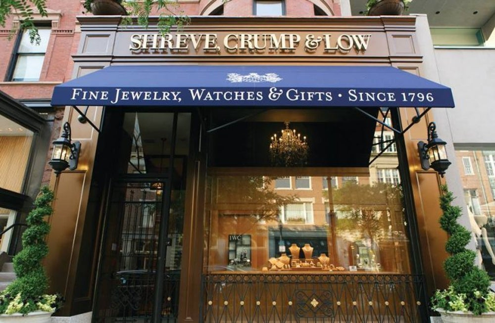 Jewelry: Shreve, Crump & Low founded in 1796