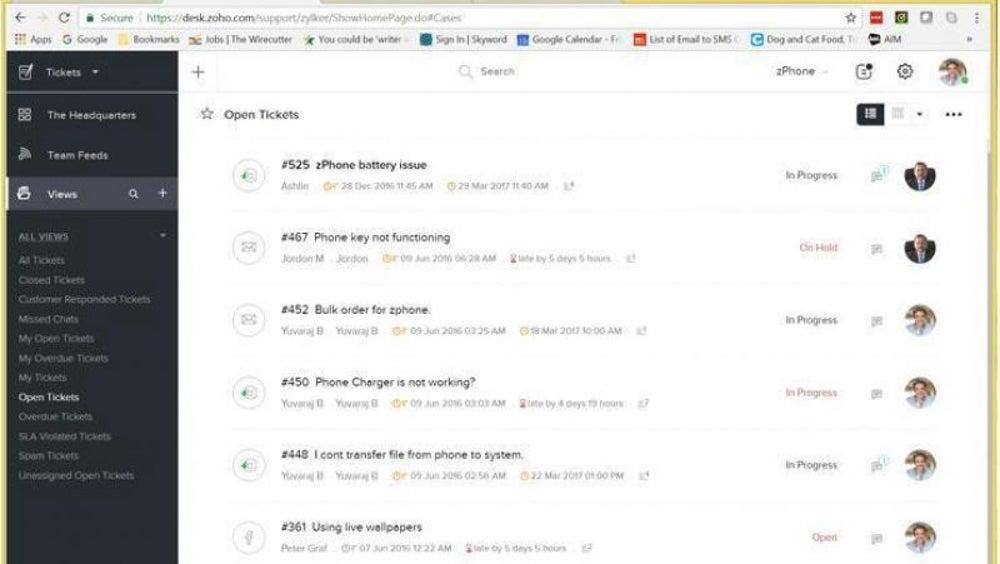 Helpdesk Software from Zoho Desk