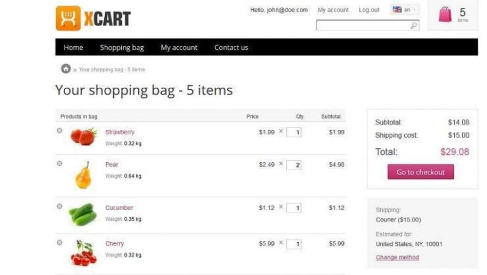 E-Commerce Software from X-Cart