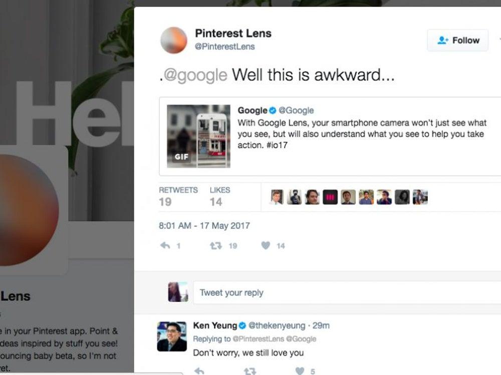 Pinterest Lens