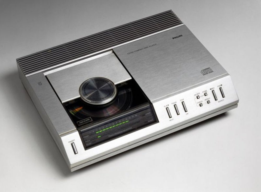3. CD player, 1982